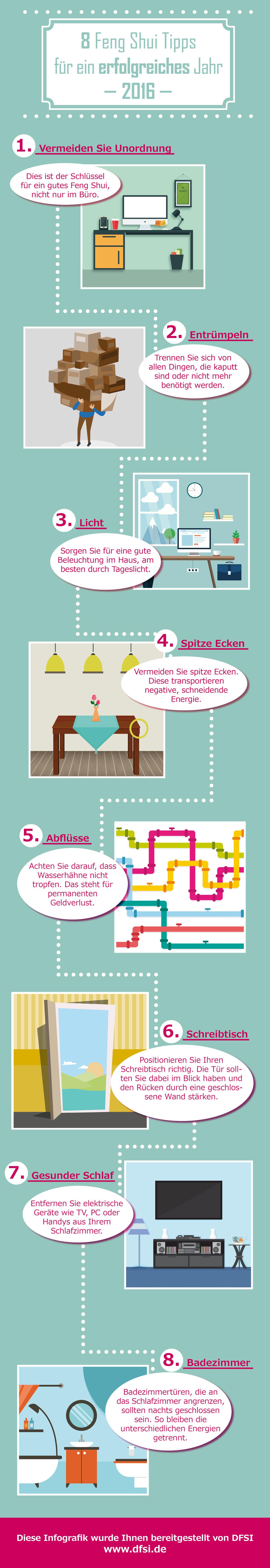 feng shui schlafzimmer 8 tipps
