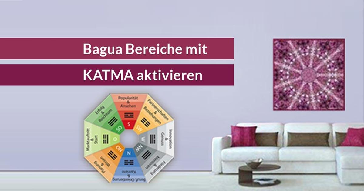 so aktivieren sie die bagua bereiche mit einem mandala dfsi. Black Bedroom Furniture Sets. Home Design Ideas