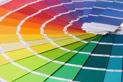 Feng Shui Einrichtungsberater Farbfächer
