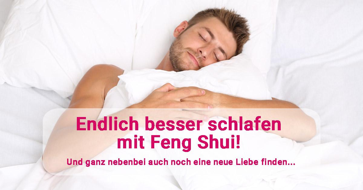 endlich besser schlafen mit feng shui und nebenbei eine neue liebe finden. Black Bedroom Furniture Sets. Home Design Ideas