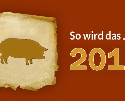 horoskop2019 schwein