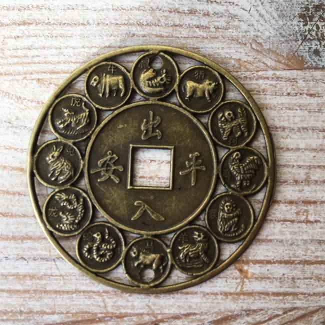 feng shui medaillon tierkreiszeichen