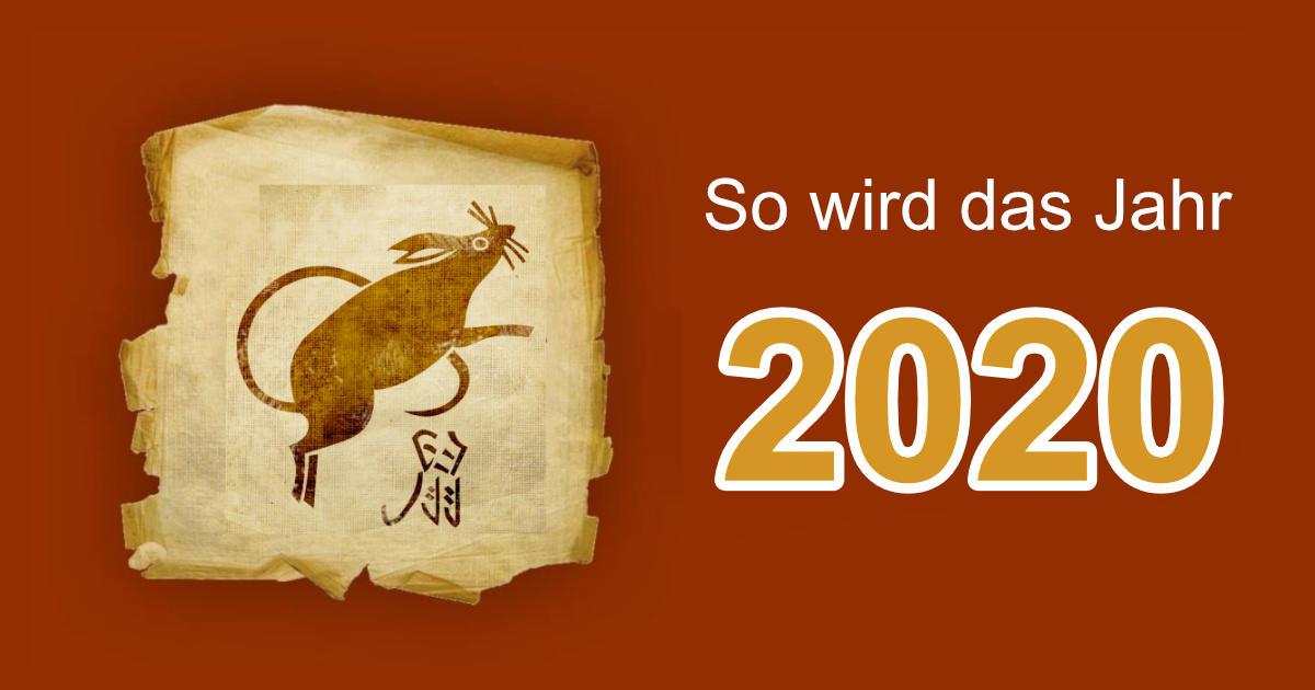 chinesisches tierkreiszeichen 2020