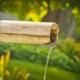 bambusrohr wasser feng shui